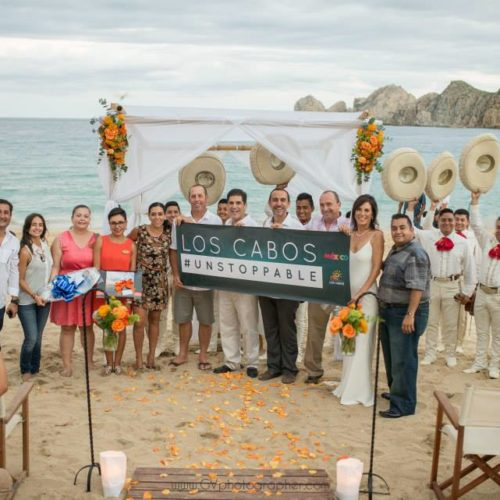 First Cabo Wedding After Odile!